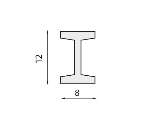 Sierbalk IPN-103 Smeedijzer Zwart